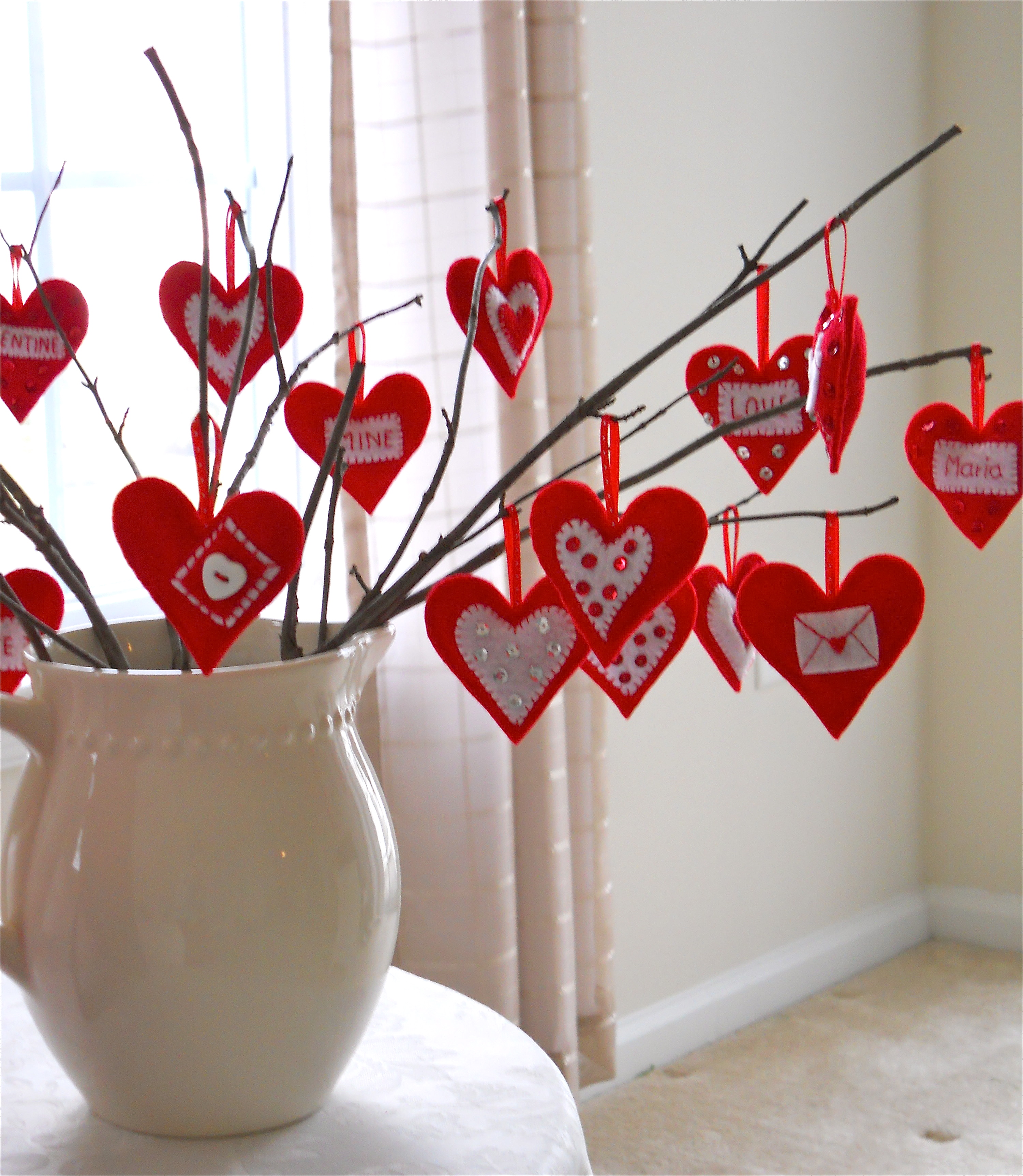 Valentine S Day Love Tree A Homemade Living