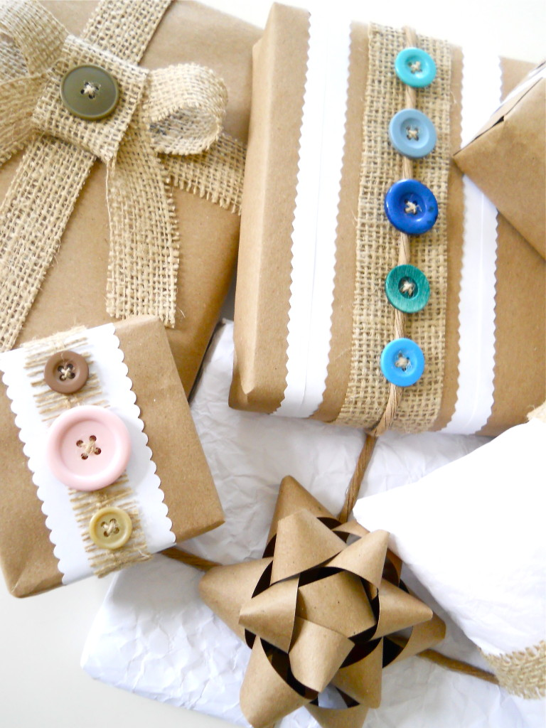 Recycled gift wrap ideas a homemade living for Recycled materials ideas