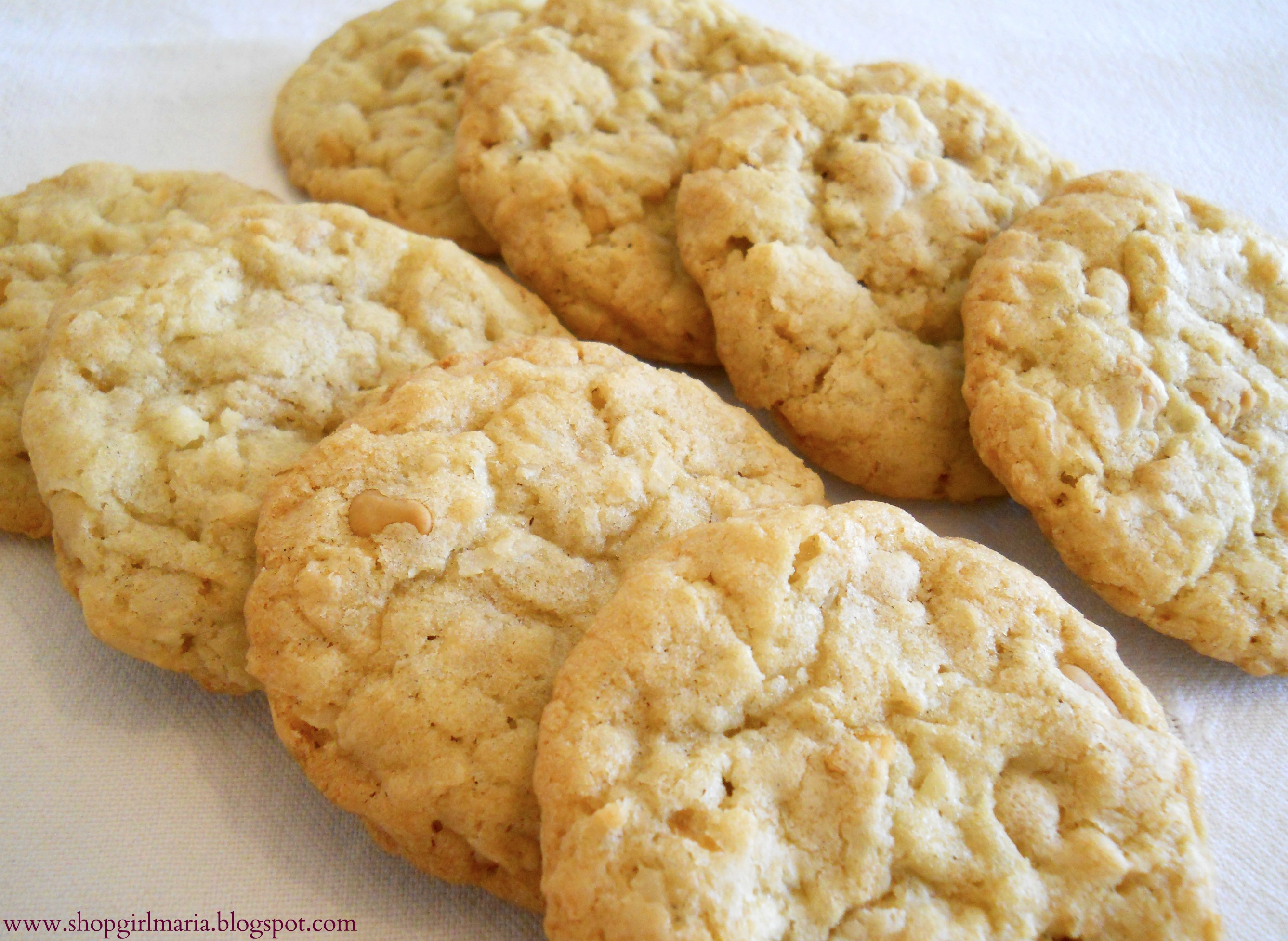 Butterscotch Coconut Cookies | A Homemade Living