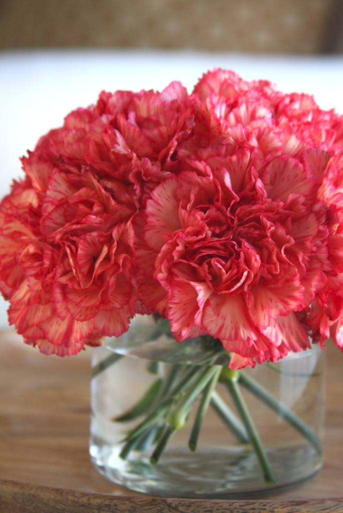 Simple Carnation Flower Arrangement