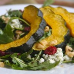 Fall Salad with Roasted Acorn Squash 1