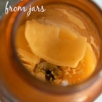 How to remove wax from jars