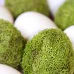 Mossy Easter Eggs