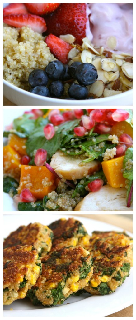 Quinoa for Breakfast, Lunch and dinner