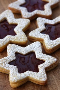 Star Linzer Cookies 1