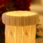 Sweater Candle Jars 2