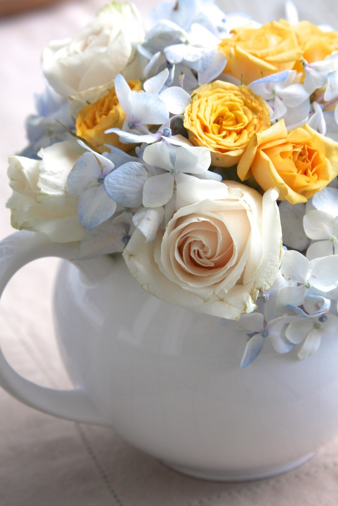 Teapot Flower Arrangement 7