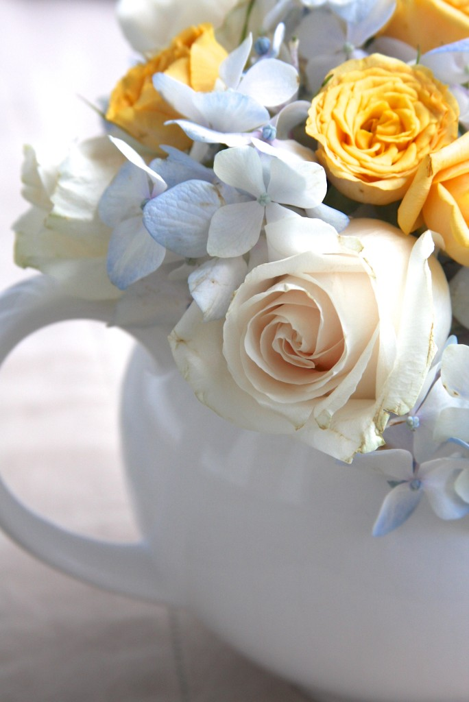 Teapot Flower Arrangement 9