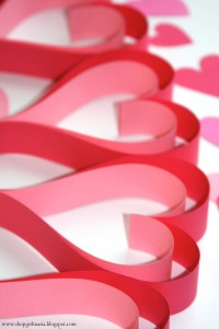 Double Heart Paper Chain