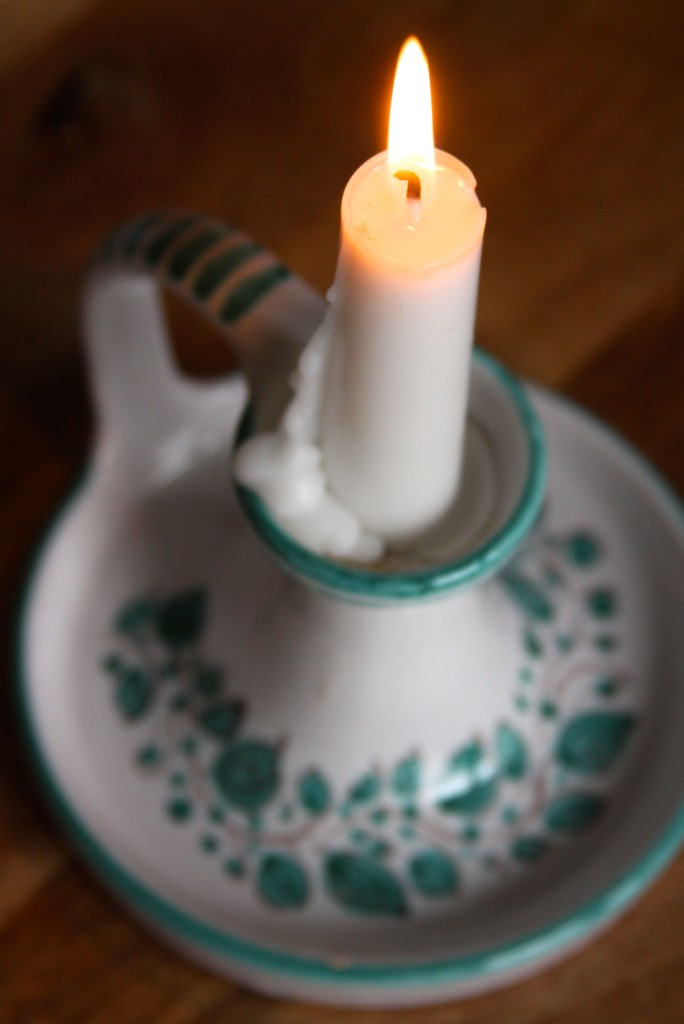 Traditional Slovak candlestick