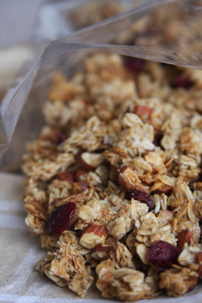 Homemade Maple Almond Granola