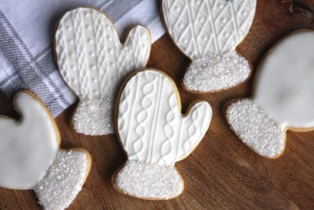 Winter Mitten Sugar Cookies