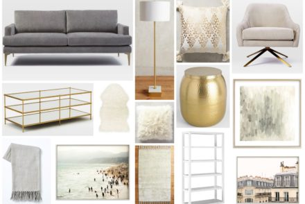 Calm Neutrals - Living Room