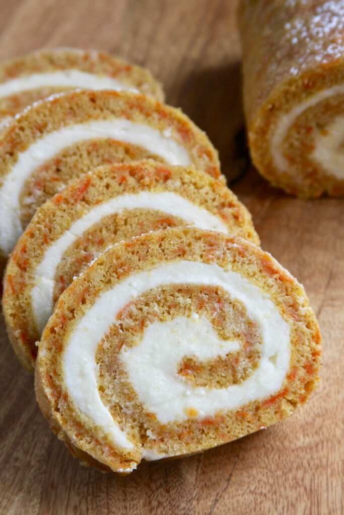 Carrot Cake Roll
