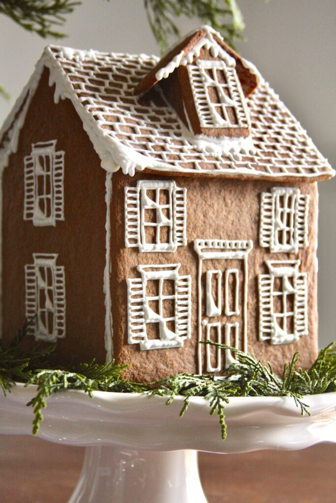 This image has an empty alt attribute; its file name is Gingerbread-House-684x1024.jpg